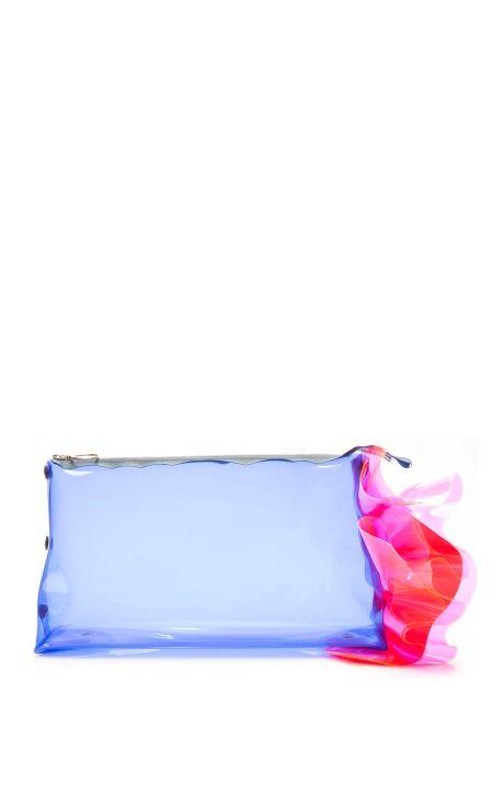 Blue, Pink, And Red PVC Bag by ROKSANDA for Preorder on Moda Operandi