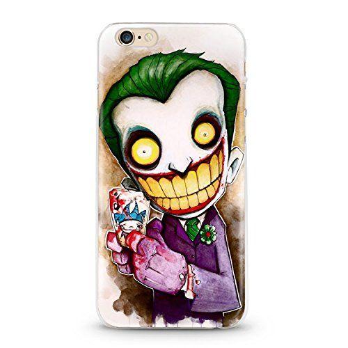 Coque Iphone 7 Iphone 8 Joker Smile BD Comics Cartoon Manga ...