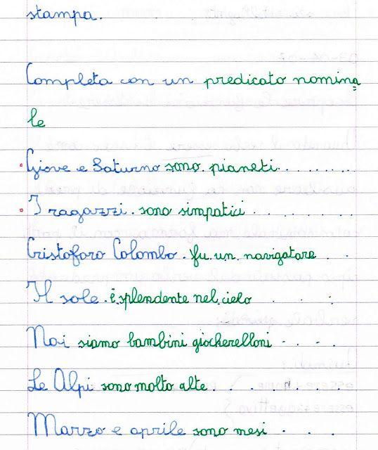 Pin Di Adele Su Analisi Logica 5 Schede Stampabili Stampabile E