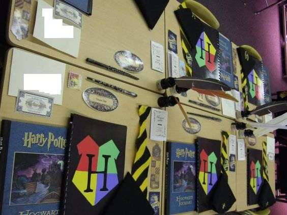 Harry Potter Classroom Decorations ~ Harry potter classroom themes and