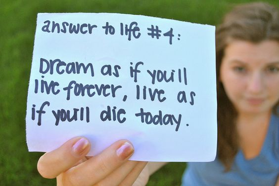 Answer to life #4