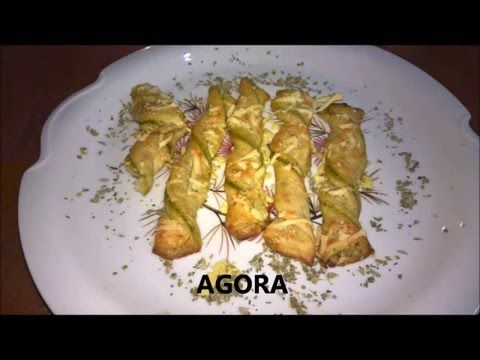 FOLHADOS DE PESTO - YouTube