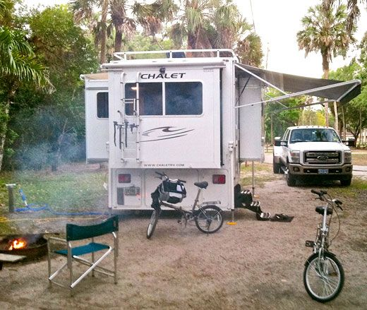 Truck Campers: Chalet TS116, Triple Slide Truck Camper