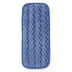 Microfiber 11In Wall/Stair Wet Pad 13.7X5.5 Blu 6 by Rubbermaid. $47.79. Reinforced double-finished edges sustain pad's shape.. Unique nylon/polyester blend captures more dust and dirt than conventional pads.. Holds up after repeated launderings.. Includes six microfiber wet pads.. The sanitation solution for hospitals and cleanrooms High-quality. dense. ultra-fine microfiber removes bacteria. making cleaning quick and effective. Fibers pick up and hold dust. dirt and grime. H...