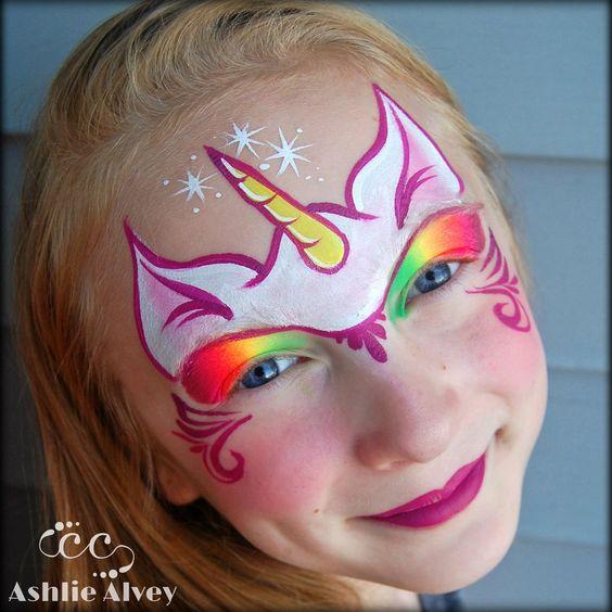 unicorn-face-paint-makeup-ideas