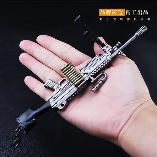 PUBG M249 Keychain