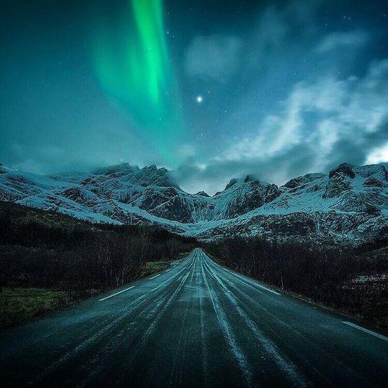 Norvegia, aurora boreale