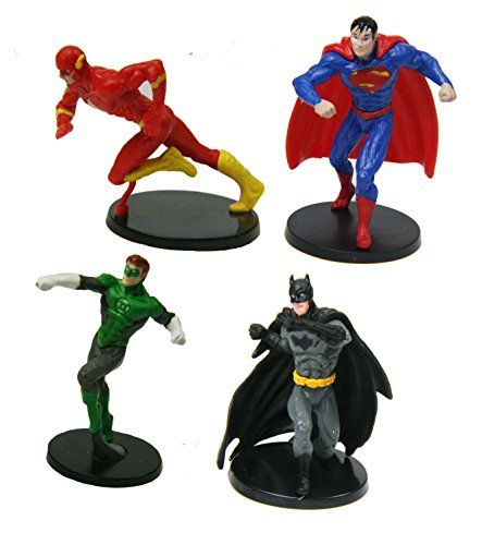 Flash, Green Lantern, Batman, Superman -- 4 DC Comics Sup…