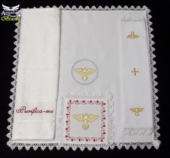 Conjunto de Alfaia Divino - Angelus