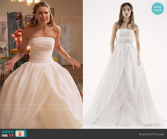 89 Best White By Vera Wang Textured Organza Wedding Dress Wedding Dress Organza Organza Wedding Dress Wedding Dresses Strapless