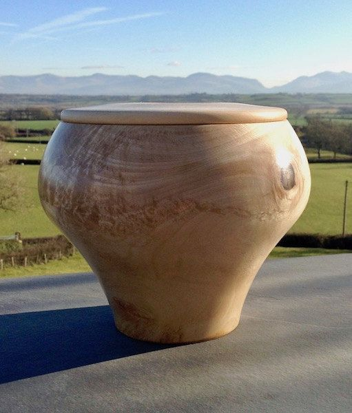Niches and Urns Wood/Wooden Cremation Urn for Ashes - Bach 4 by NichesandUrns on Etsy: