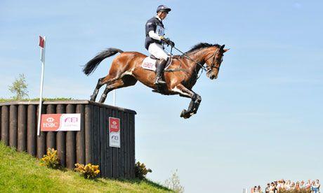 A genius equestiran. William Fox-Pitt winner of the 2012 Rolex in Lexington, KY.