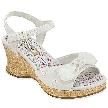 Arizona Eileen Girls Wedge Sandals - jcpenney - #2