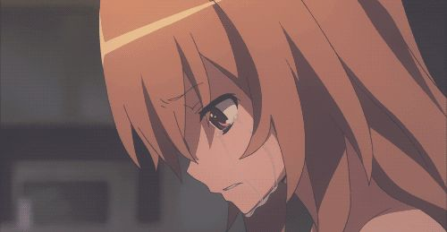 If we make a decision, things might change. - Toradora GIF