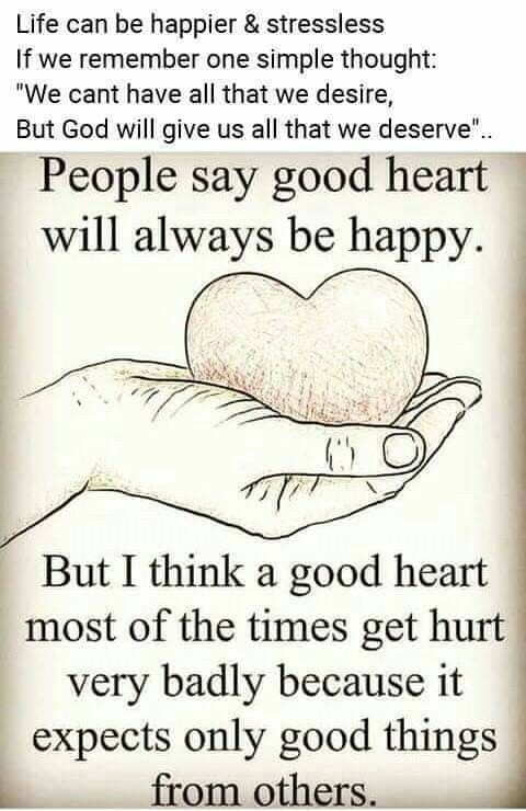Good Heart Quotes In English