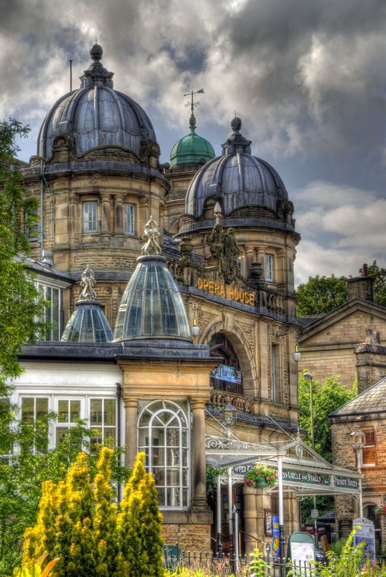 """Opera House, Buxton, Derbyshire, UK (home of the International Gilbert & Sullivan Festival each August!)  Not technically a """"bucket list"""" item as I've been here twice, but it's been over 12 years and I need to go back!!"""