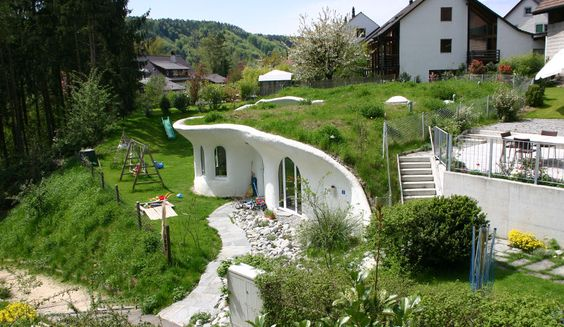 Erdhäuser / Earth Houses - vetsch architektur
