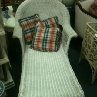 Beautiful wicker lounge
