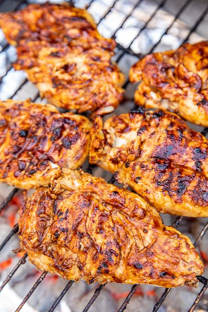 Apple BBQ Grilled Chicken