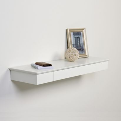 Heritage Cream Floating Drawer Shelf L 804mm D 251mm