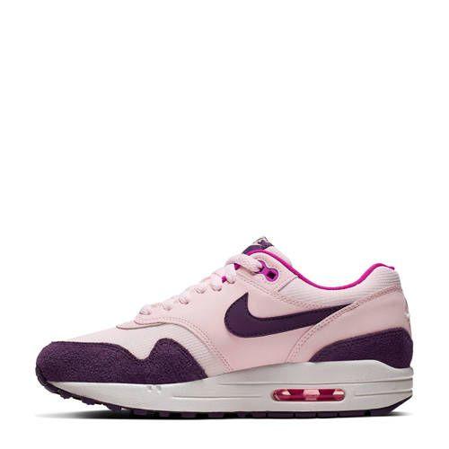 Nike Air Max 1 sneakers roze/paars in 2020 - Air max 1, Nike ...