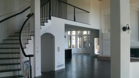 All white house with black accents, just completed by a company posted on www.painterfinder.com.  awesome!