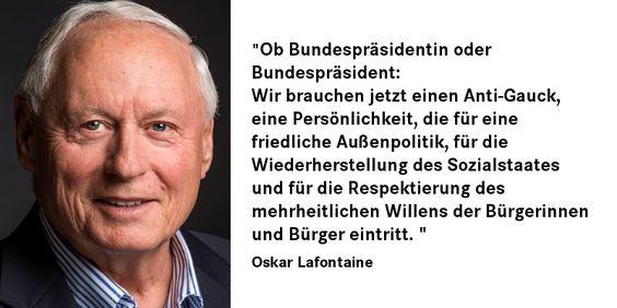 #Oskar #Lafontaine zu #Gauck und die Suche nach einem neuen 'Bundespräsident #antigauck #dielinke #linksfraktionsaarn #oskarlafontaine