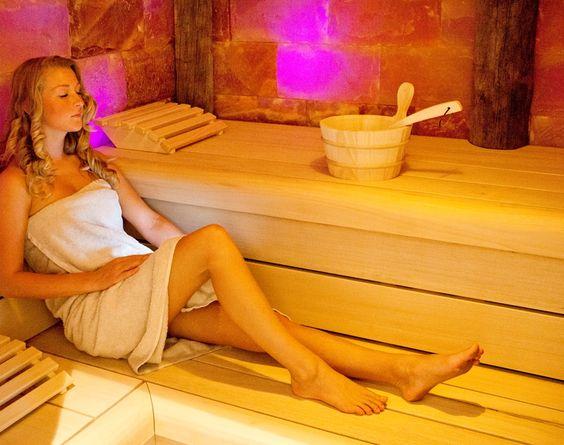 Zoutsteensauna Saunaplein Vitalia Beauty & Wellness