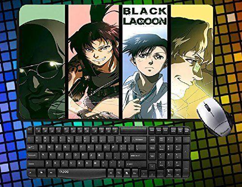 Black Lagoon Revy Large Mouse Pad 60cmx35cm Anime Mousepad Desk