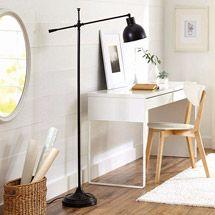 Better Homes and Gardens Hinged Floor Lamp, Bronze Finish | Walmart