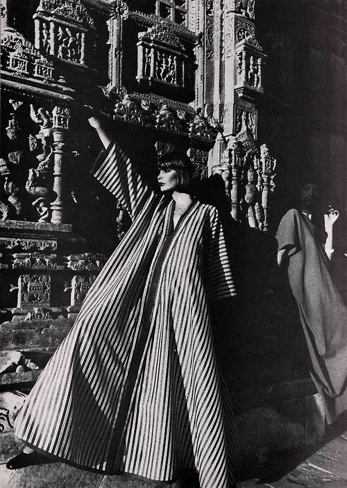 exaggerated caftan