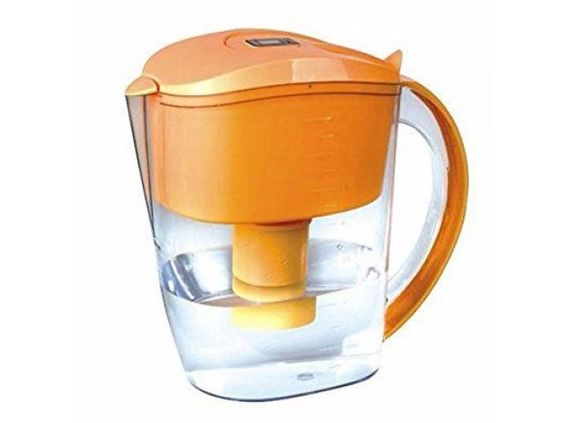 Well Blue Alkaline woter filter pitcher orange