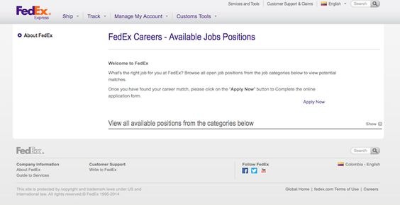 UPS Jobs Jobs Pinterest - fedex jobs