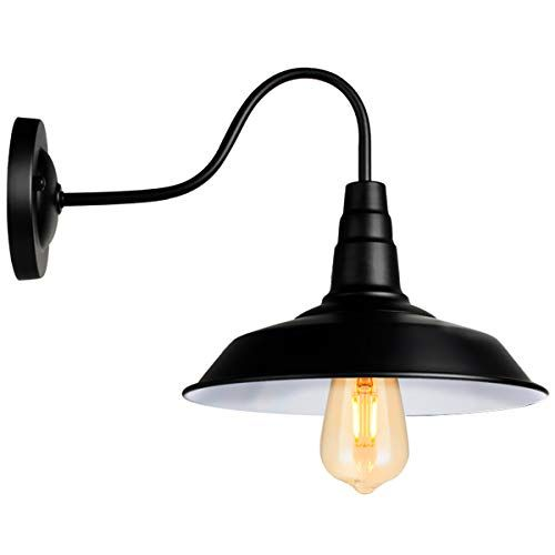 Black Wall Sconce Lighting Gooseneck Barn Wall Light Indu Https Www Amazon Com Dp B0772rcwky Ref Cm Sw Industrial Wall Lights Led Porch Light Wall Sconces