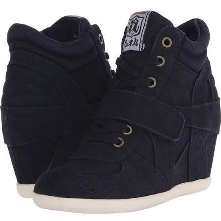 ASH Bowie Women's Lace up casual Shoes Black : 40 (US Women's 10) M
