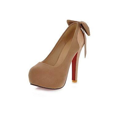 Leatherette Women's Stiletto Heel Platform Pumps/Heels Shoes(More Colors)