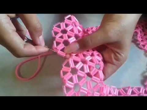 Cara Membuat Bunga Dari Sedotan Dunia Kreatif Youtube