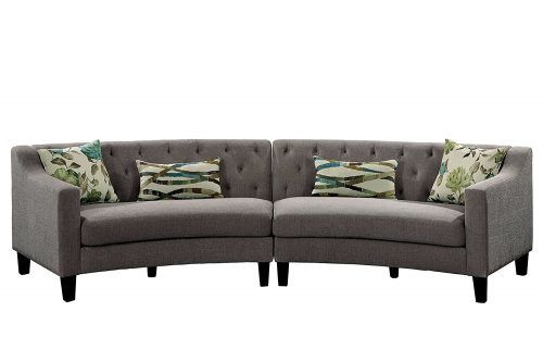 Top 10 Best Curved Sofas In 2020 Reviews Curved Sofa Furniture
