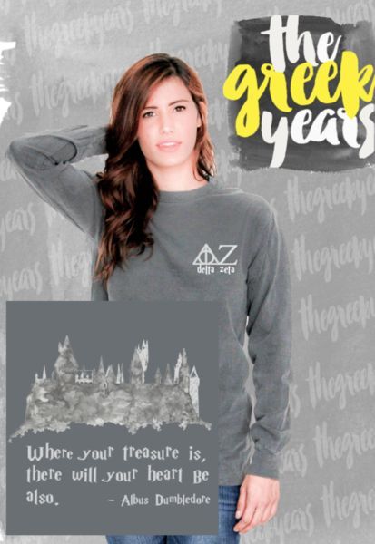 Delta Zeta Harry Potter Tees