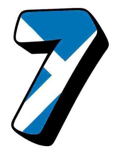 Scottish - Scotland Flag Number 7 Sticker For House Door / Wheelie Bin / Dustbin - Choose Number Stickerworm http://www.amazon.co.uk/dp/B00HPYQOZE/ref=cm_sw_r_pi_dp_-bj5vb02N80C0