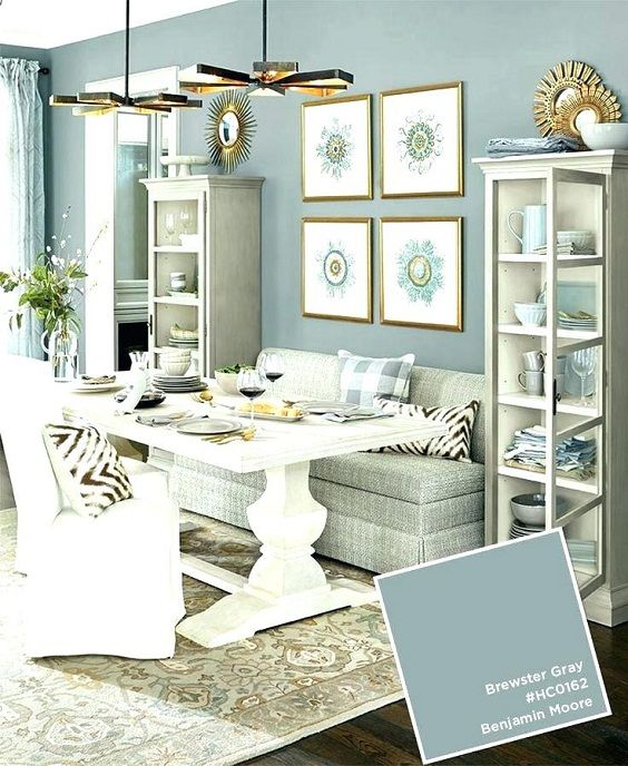 Dining Room Color Ideas Two Colors For The Paint Wall Dining Room Colors Dining Room Paint Colors Paint Colors For Living Room