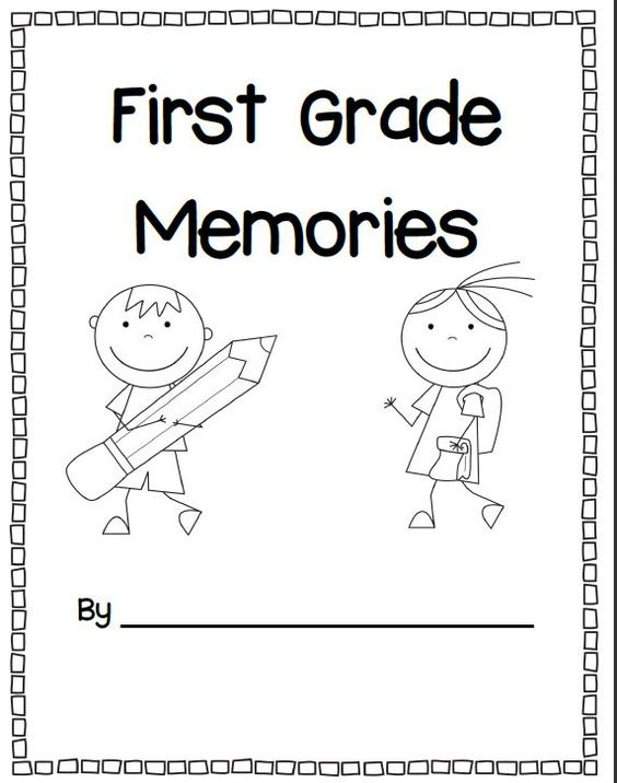First grade writing reflections and activities for end of year $