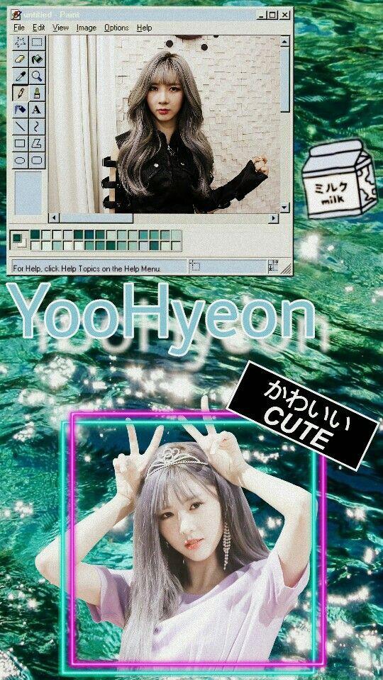 Yoohyeon Dreamcatcher Wallpaper Orang