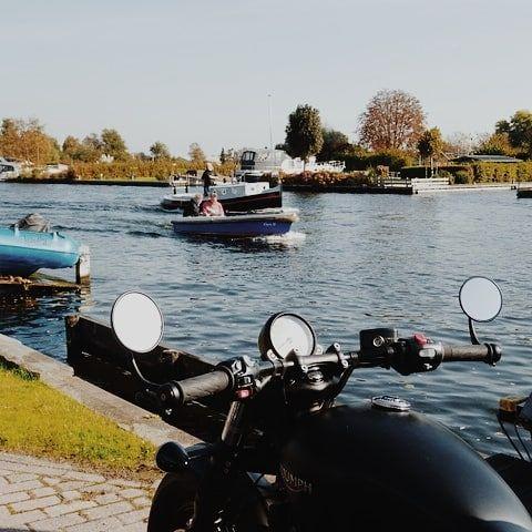 Boat Vs Bike Dutch Bobber Boat Water Sun Bobber Bike