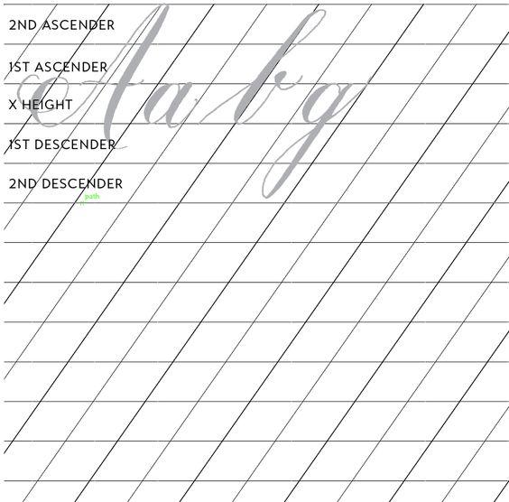 Number names worksheets � printable calligraphy practice