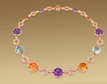 Le collane con pietre preziose più belle del mondo: Bulgari Collana, Bvlgari Jewellery, Bulgari Lvmh Jewelry, Bvlgari Colors