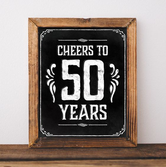 50th birthday party decorations. Printable 50 th birthday decor rustic. 50 birthday centerpieces. Cheers to 50 years poster. Birthday sign 50th birthday party decorations decoration Printable 50 th birthday rustic decorations centerpieces Cheers to 50 years poster birthday chalkboard digital download birthday decor country style SunnyNotes 5.00 USD:
