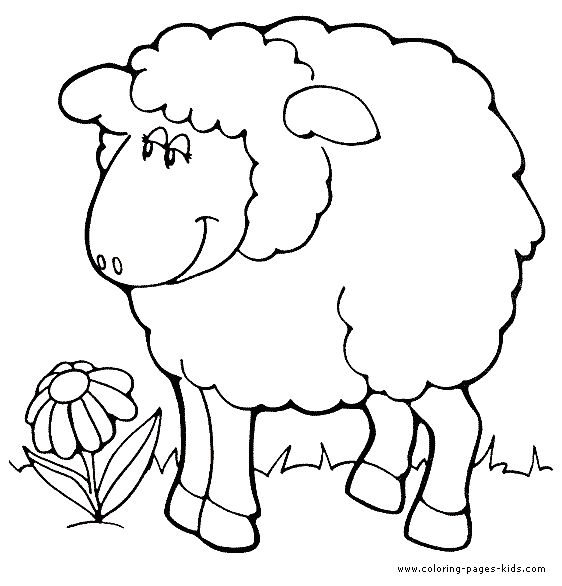 meadow animals coloring pages - photo#17