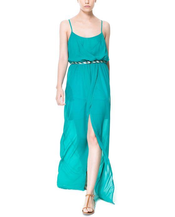 Zara Verde Turquesa Dress
