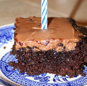 Friday Food: Black Magic Cake with Mocha Frosting - for the coffee ...